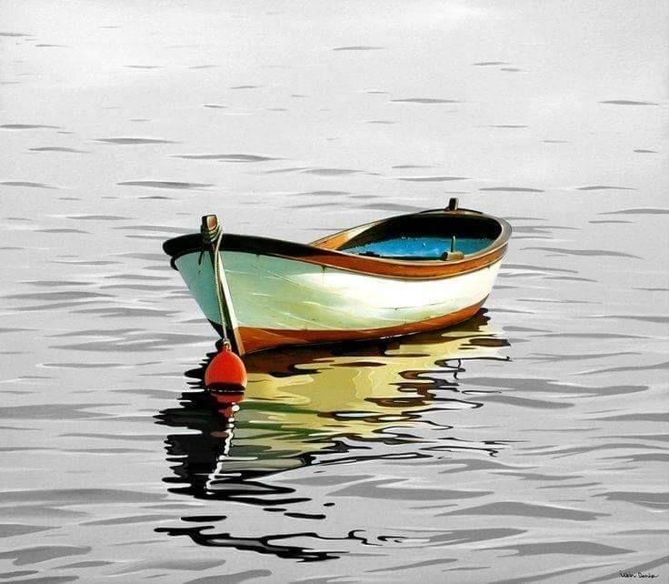 Рисунки кораблики на воде