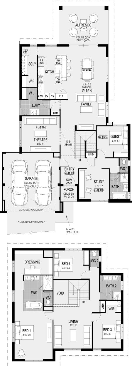The Metropolitan floorplan