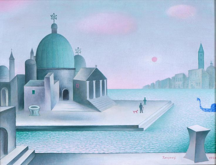 Jan Zrzavý, San Salvatore, 1928