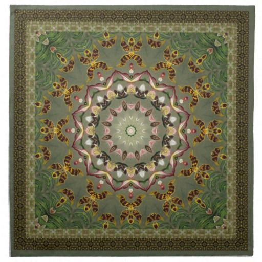 Soft Green Mandala
