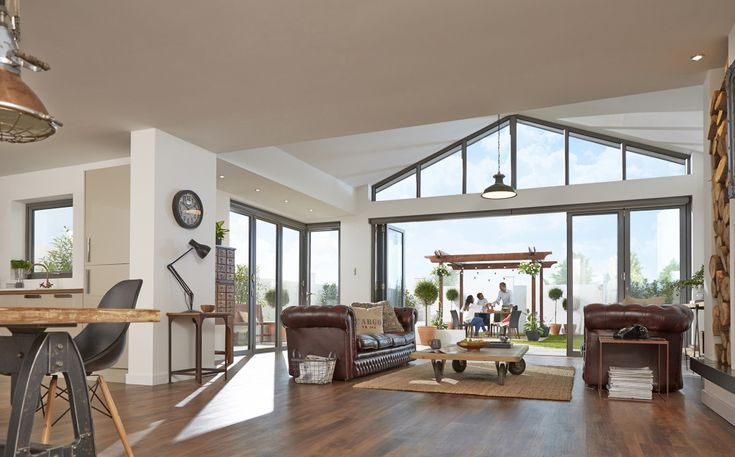 contemporary stack away doors to the inside - Google Search