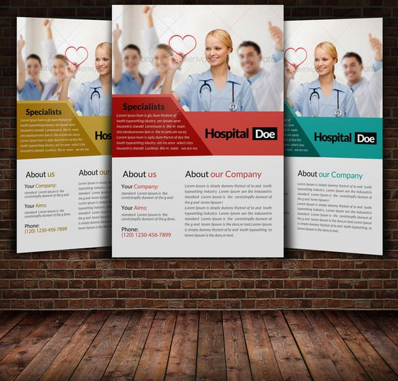 12 best Flyer design images on Pinterest Flyer design, Business - hospital flyer template