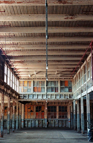 """""""Long Gone""""  an abandoned warehouse in Norwood, MA"""