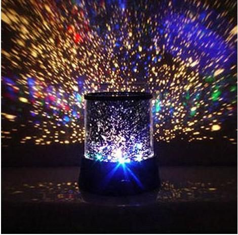 Colorful cosmos stars laser-LED projector