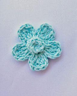 Flower Girl Cottage: Free Crochet Flower Pattern   4x crochet stitch is a double treble ( TR is treble not triple)