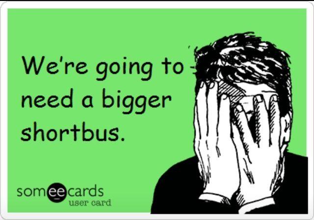 Bigger short bus