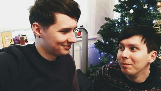 they looked at each other