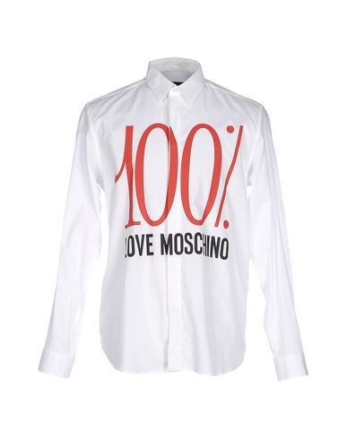LOVE MOSCHINO Shirt. #lovemoschino #cloth #top #pant #coat #jacket #short #beachwear
