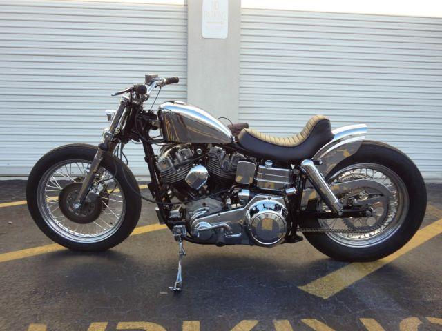 1975 Harley FXE Turbo Custom shovelhead Bobber Chopper Panhead for ...