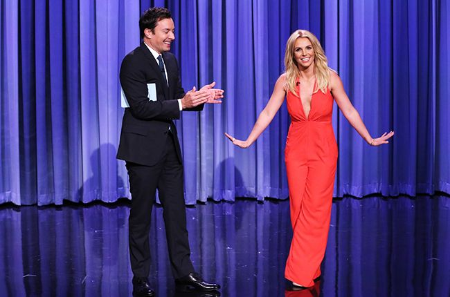September 9: Jimmy Fallon puts Britney Spears on Tinder on The Tonight Show.