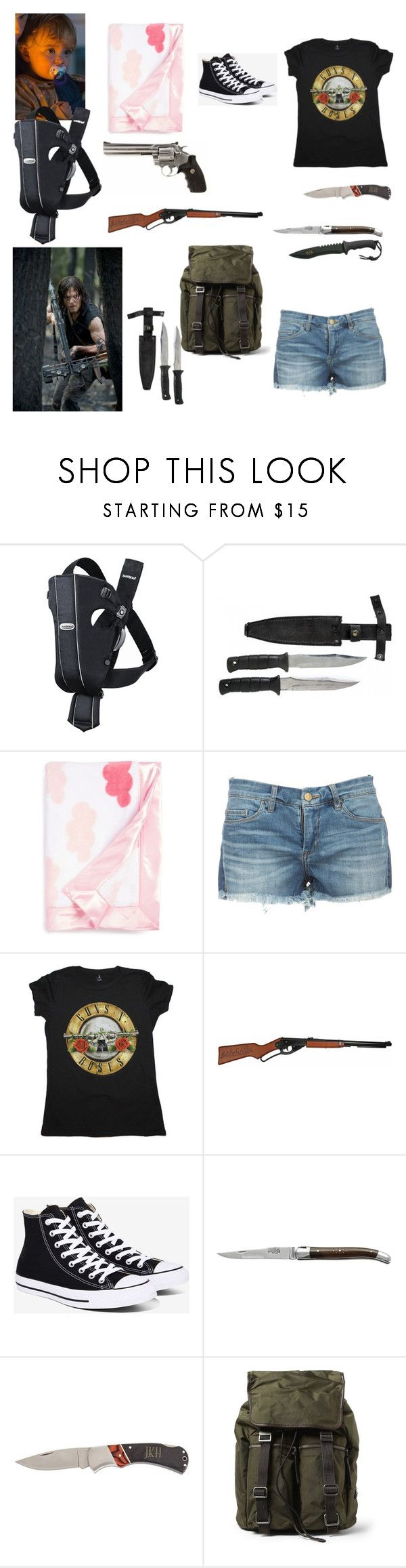 """After The Fall"" by wwe-twd ❤ liked on Polyvore featuring Episode, BabyBjörn, Nordstrom, Converse, Forge de Laguiole, Home Decorators Collection and Dolce&Gabbana"