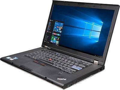 "Lenovo T510 15.6"" Grade C Laptop Intel Core i5 1st Gen 520M (2.40 GHz) 320 GB HD"