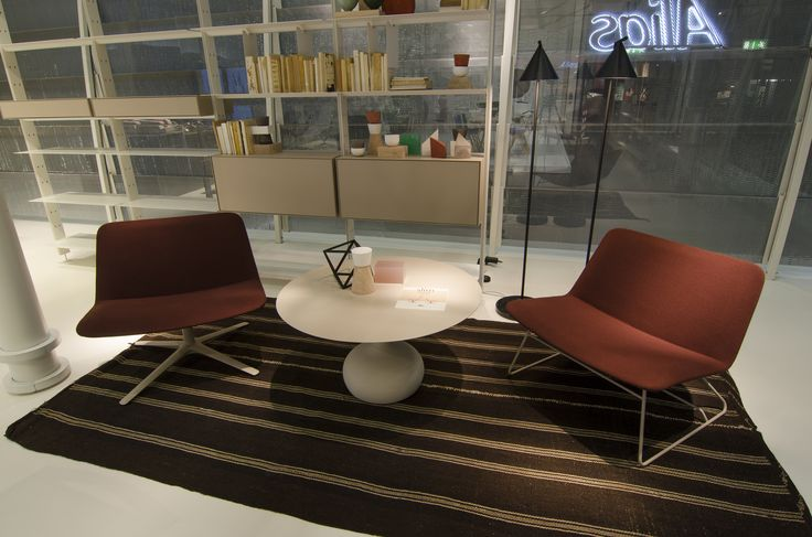Alias @ ORGATEC 2016 New office collections slim collecrion by PearsonLloyd