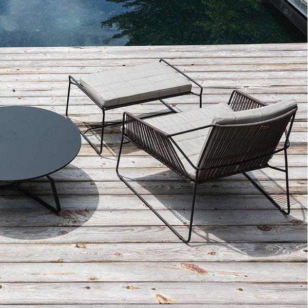 Adirondack Chair Kussens.Sandur Patio Stoel Met Kussens Garten Und Terrasse Patio Chairs
