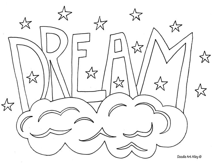 Free printable Word Coloring Pages from Doodle Art Alley ...
