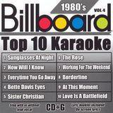 Billboard Top 10 Karaoke: 1980's, Vol. 4 [CD]