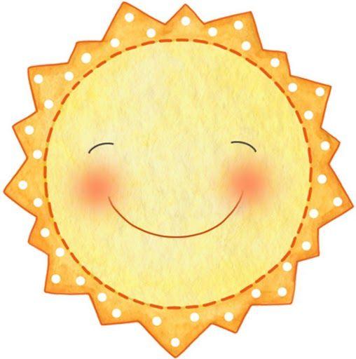 Sol para imprimir, dibujos de soles infantiles para tus manualidades para bebes y bay showers, imprime tu dibujo de sol gratis    Sol con c...