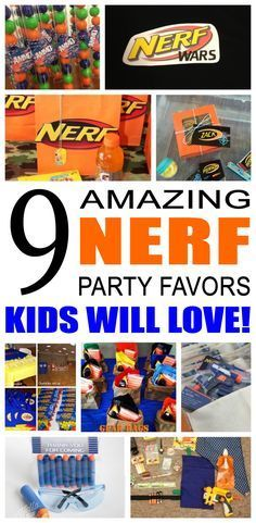 Fun kids nerf party favor ideas. Try these diy nerf party favors for boys and girls. Here are some easy goody bags and treats to say thank you to the friends of that special birthday child.