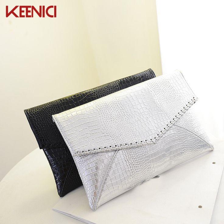 $9.92 (Buy here: https://alitems.com/g/1e8d114494ebda23ff8b16525dc3e8/?i=5&ulp=https%3A%2F%2Fwww.aliexpress.com%2Fitem%2FFashion-Crocodile-Grain-Women-s-Clutch-Bag-Pu-Leather-Women-Envelope-Bag-Clutch-Evening-Bag-Female%2F32728076480.html ) Fashion Crocodile Grain Women's Clutch Bag Pu Leather Women Envelope Bag Clutch Evening Bag Female Envelope Bag Clutches Handbag for just $9.92