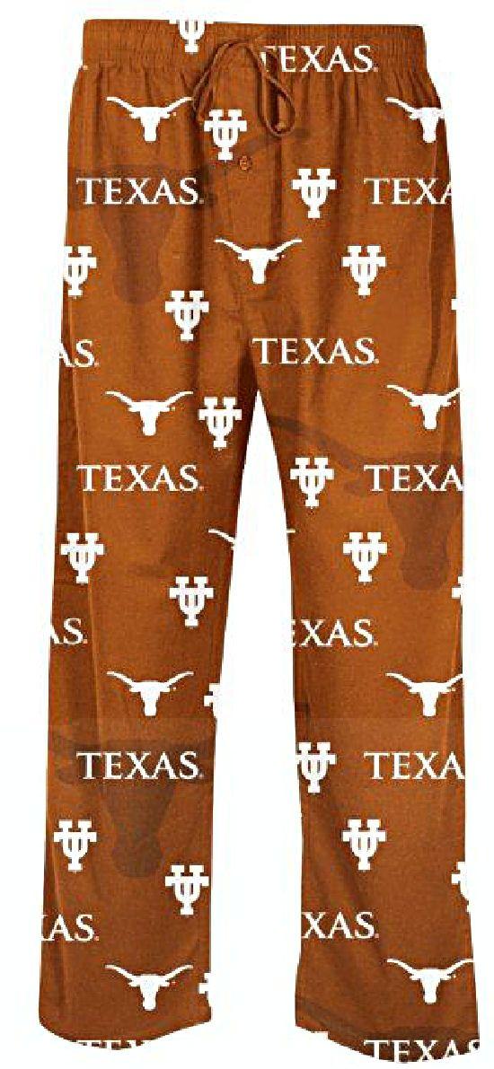 Texas Longhorns Men's Burnt Orange NCAA Keynote Pajama Pants $28.95