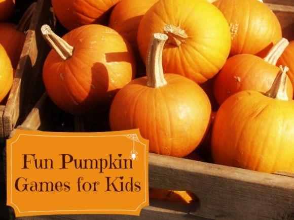 Pumpkin Games for Kids: Fun Ways to Use those Pumpkins!
