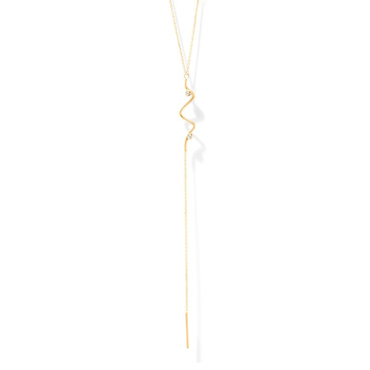The Long Sonar Necklace by SARAH & SEBASTIAN
