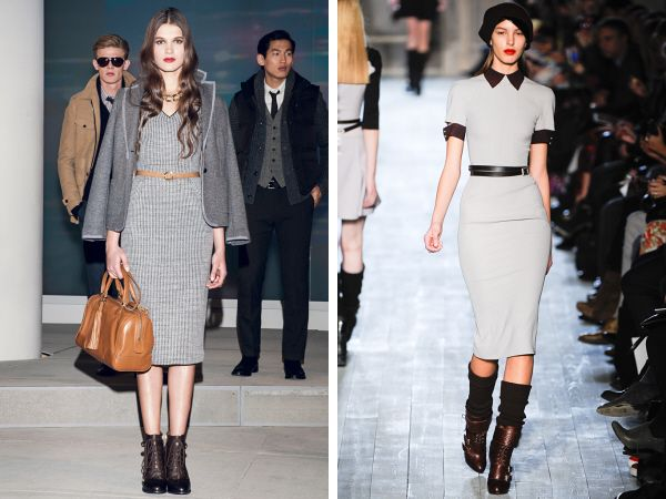 Perfect work dresses for fall.