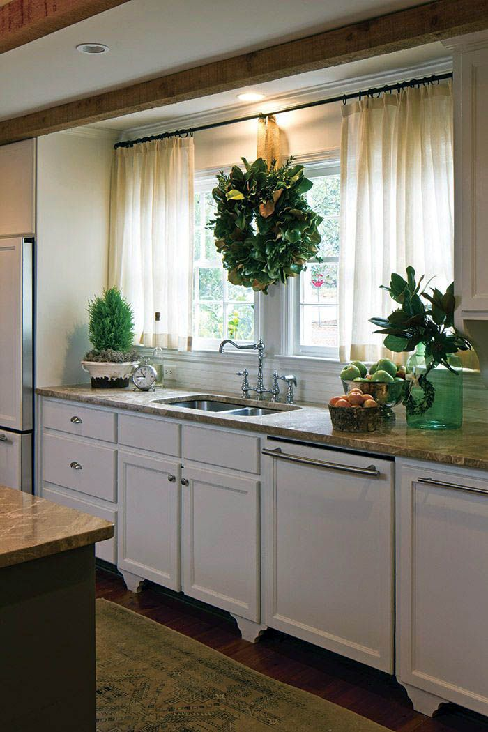 Cool Easy To Make Kitchen Window Treatments That Will Blow Your