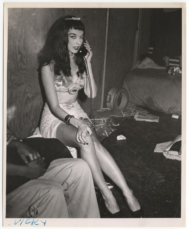 'vicky' by weegee, circa 1956