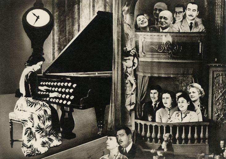 "Grete Stern....""Dream No. 18: Café Concert,"" 1948....Surrealism                                                                                                                                                                                 More"