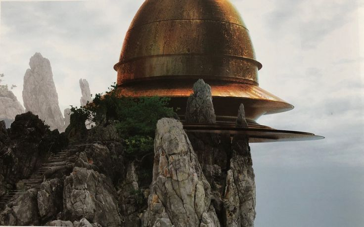 Concept Art Revealed For George Lucas' Vision of The Jedi Temple For STAR WARS: EPISODE VII