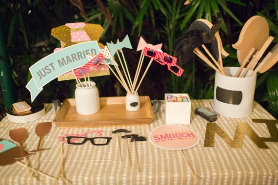 Photo booth fun | photo by Jessica Loren | planning by Sarah Tucker Events | 100 Layer Cake