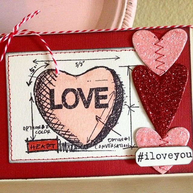 16 best Valentine Blueprint Tim Holtz images on Pinterest  Tim o