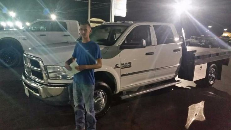 Congratulations Caleb Johnson on the purchase of your 2014 Dodge Ram 3500. We appreciate your business.