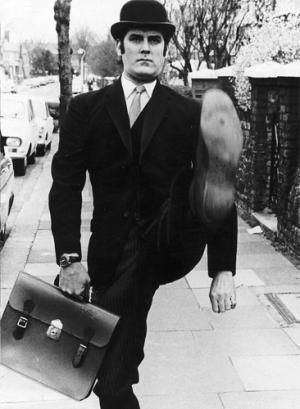 The Ministry of Silly Walks. Oh Monty Python, you make me smile!