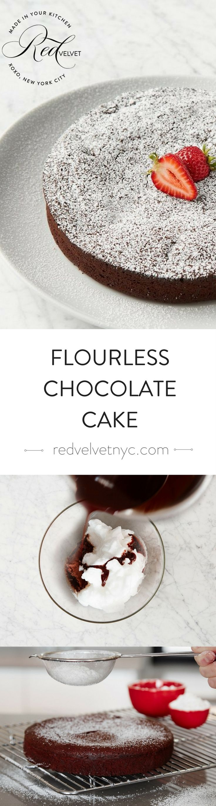 This smooth and creamy brownie-style cake is dense and rich, bursting with…