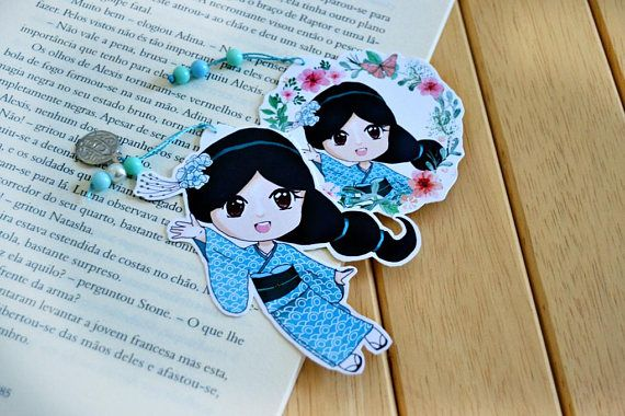Princess in Japan Bookmark