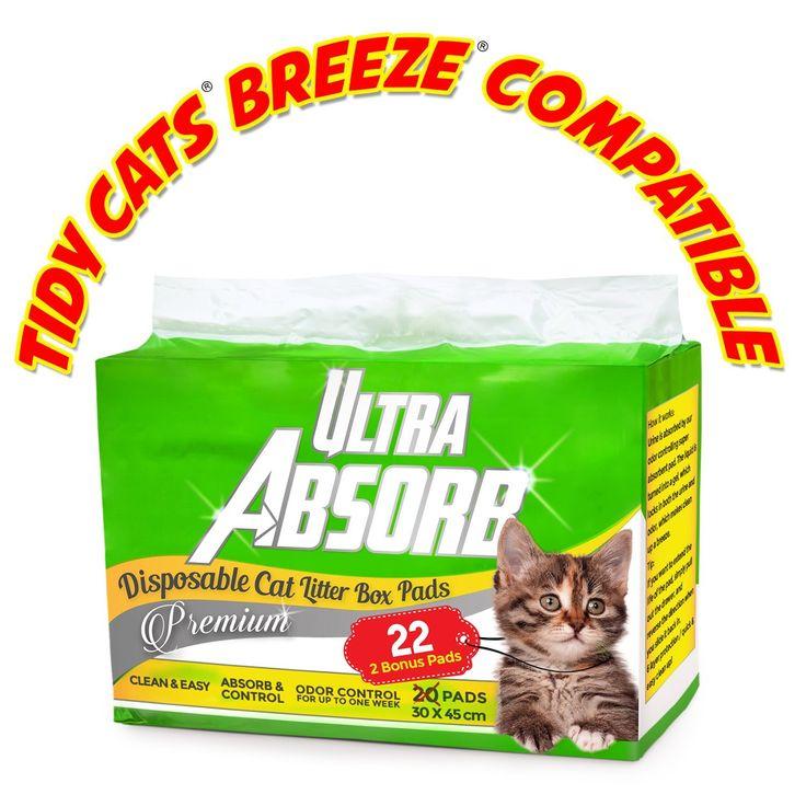 Ultra Absorb Tidy Cats Breeze Pad Compatible Premium Cat