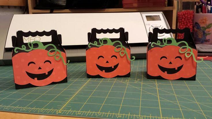 Silhouette Cute Halloween Box