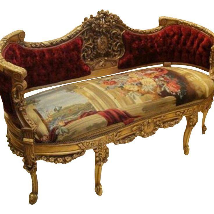 best 20 antique sofa ideas on pinterest. Black Bedroom Furniture Sets. Home Design Ideas