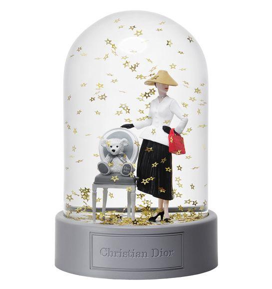 Boule à neige, collection Christian Dior pour Harrods