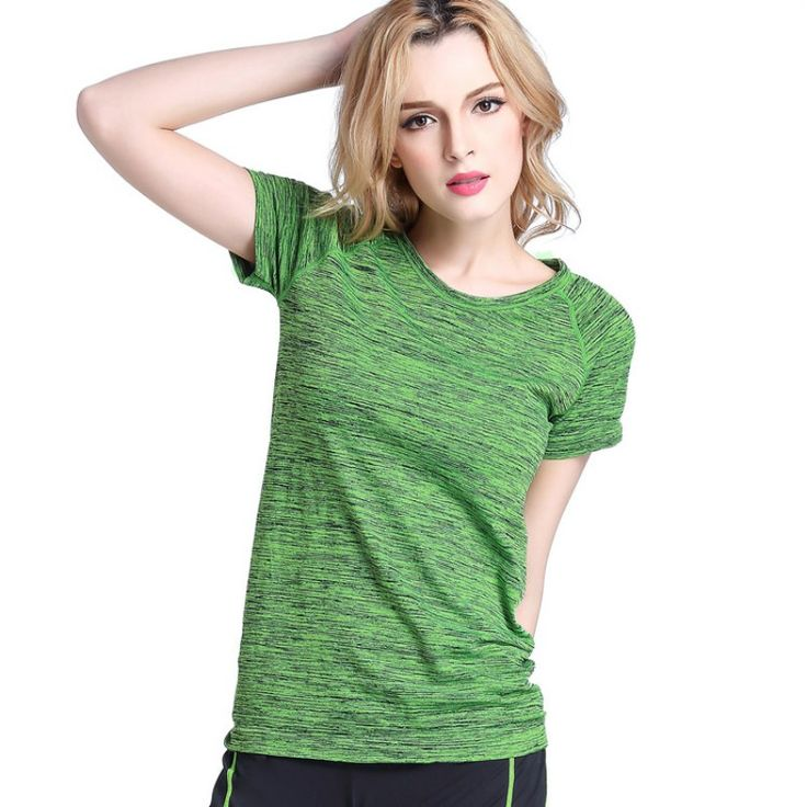 Women Short Sleeves Hygroscopic Quick Dry Fitness Tees     Tag a friend who would love this!     FREE Shipping Worldwide | Brunei's largest e-commerce site.    Buy one here---> https://mybruneistore.com/women-tees-t-shirt-short-sleeves-hygroscopic-quick-dry-fitness-t-shirt-for-women-tops-chic/