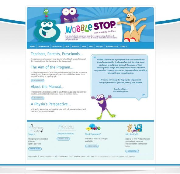 Wobblestop http://www.waggawebdesign.com/wobblestop/