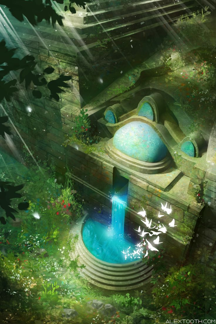 Ancient City by Alex-Tooth on DeviantArt