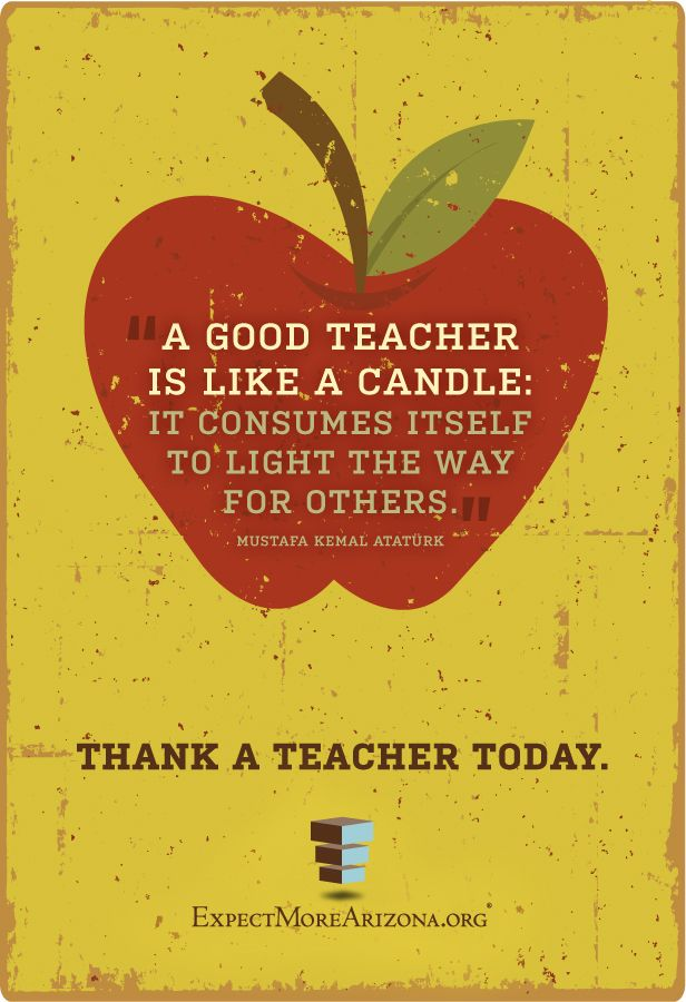 We can't begin to express our gratitude for the passion and devotion of Arizona's educators. We know we don't thank you enough, but we are so grateful for your tireless efforts for Arizona's students. Thank your favorite teacher in the comments below, and share this image to let your friends know you appreciate Arizona's educators!