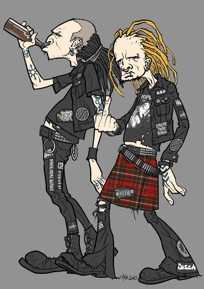 Crust Punks by StraightEdge1977