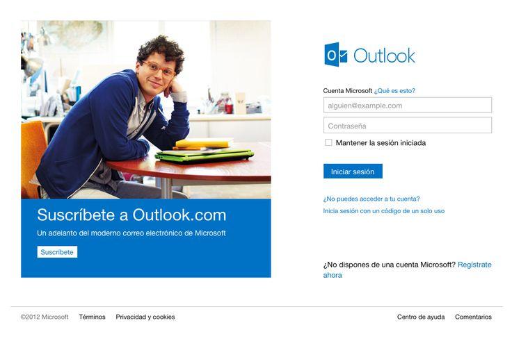 Outlook.com - Iniciar sesión outlook