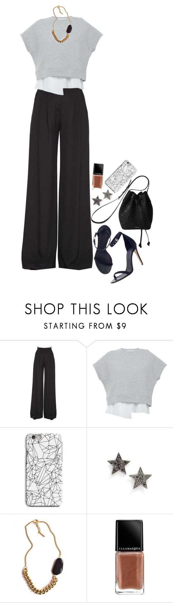 """Untitled #488"" by christinajkhjorungdal ❤ liked on Polyvore featuring Carolina Herrera, 10 Crosby Derek Lam, INDIE HAIR, Rachael Ruddick, Dana Rebecca Designs, Tilly Doro, Illamasqua, women's clothing, women and female"