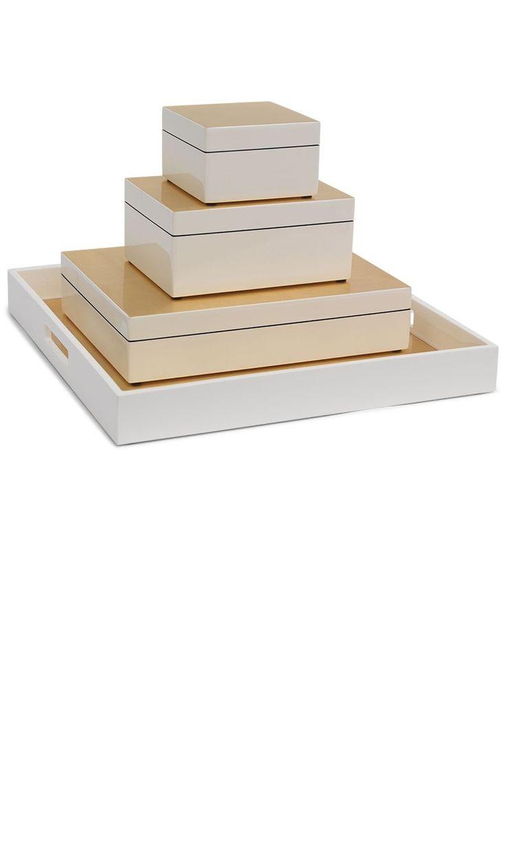 White gift box 15 pinterest 10 white gift box white gift boxes white gift box with lid white wood negle Images