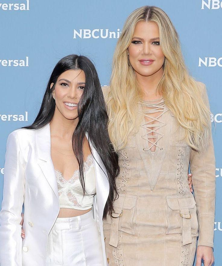 Breezy's World: Kourtney and Khloé Kardashian Flaunt Their Toned L...